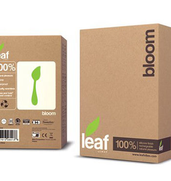 g-spott vibrator leaf bloom package