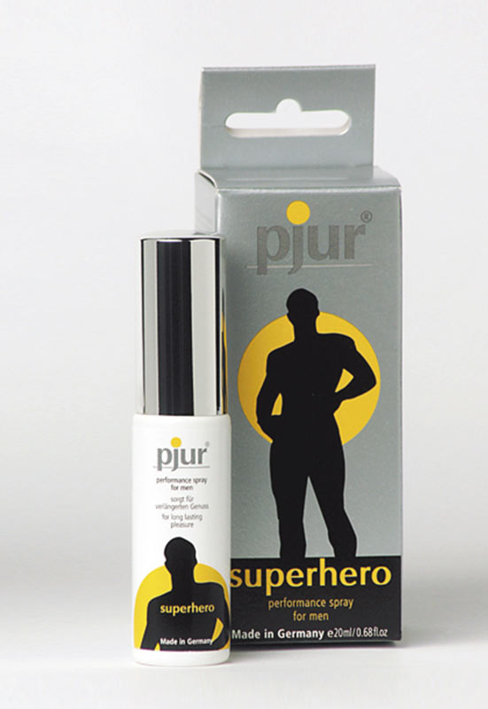 Endurance Spray - Pjur Superhero - lotuscede.co.za