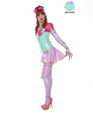Miss Muffet Latex Outfit – latex underbust – Lotuscede