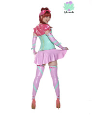 Miss Muffet Latex Outfit – latex underbust and skirt – Lotuscede