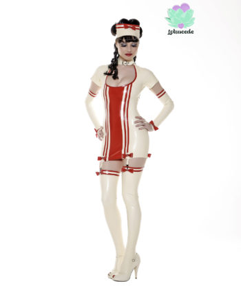 Nurse Angel Latex Outfit - lotuscede.co.za