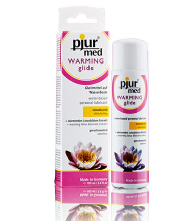 Warming Water Lubricant - Pjur Med Warming Glide - lotuscede.co.za