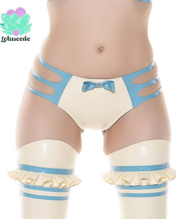 Alice Latex Panties - Designer Latex Clothing - lotuscede.co.za