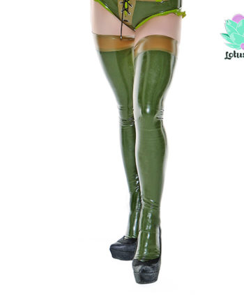 Camo Latex Stockings - Camo Camilla - lotuscede.co.za