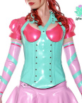 Miss Muffet Latex Corset - lotuscede.co.za