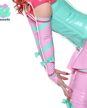 latex full length gloves