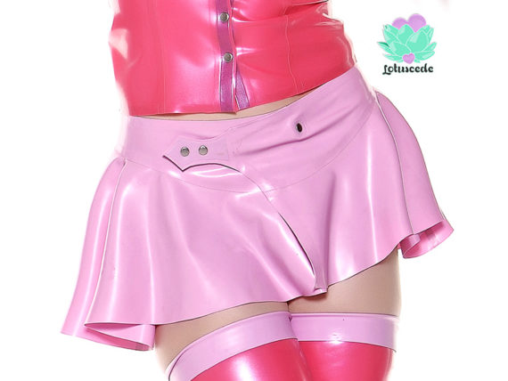 Miss Muffet Latex Skirt - lotuscede.co.za