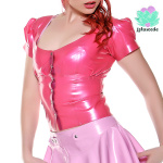 latex shirt muffer