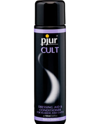 Pjur Cult Latex Dressing Aid & Conditioner - Lotuscede