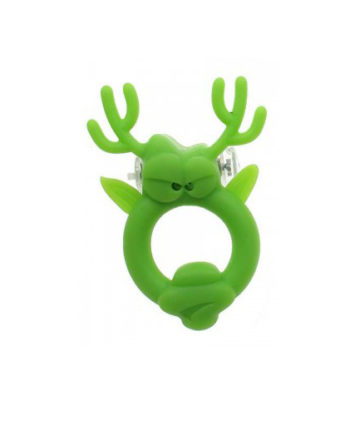 Rockin Reindeer Vibrating Cock Ring - Sex Toys for Men - Lotuscede