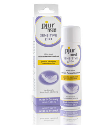 Natural Water Lubricant - Pjur Med Sensitive Glide - lube for sensitive skin - Lotuscede