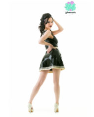 Latex French Maid Dress – Sexy Designer Fantasy Latex – Lotuscede