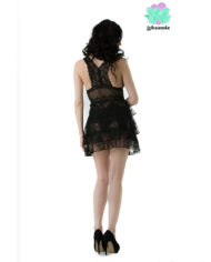 Black Lace Baby Doll – Sexy Lingerie – Lotuscede