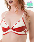Latex Nurse Bra - Sexy Designer Fantasy Latex - Lotuscede