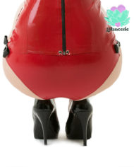 Sweetheart Latex Hot Pants Red – Sexy Designer Latex – Lotuscede