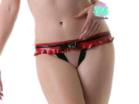Tiny Latex G-String Panties - Sexy Designer Latex - Lotuscede