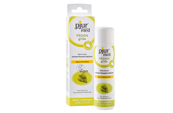 Vegan Natural Water Lubricant - Pjur Med Vegan Glide - Lotuscede