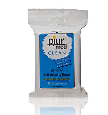 Hygiene Wipes - Pjur Med Clean Fleece - sex toy cleaner - lotuscede.co.za
