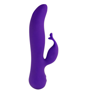 Rabbit Vibrator Kissing Swan Special Edition Purple - Lotuscede