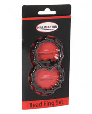 Bead Cock Ring Set – Malesation Two Set Box